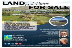 20 Acres with a Beautiful Home!