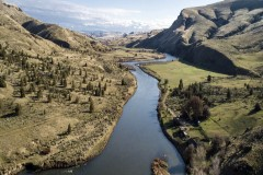 Horseshoe Bar Ranch on the John Day River