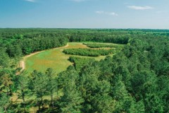 High-Fence Hunting Ranch & Log Home For Sale in Attala County, MS