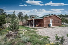 Mountain Equestrian Estate with Adobe Home & Guest House