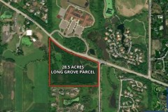 28 AC LONG GROVE RESIDENTIAL DEVELOPMENT SITE