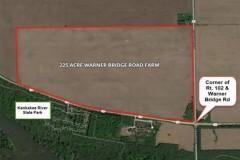 225 Acre Warner Bridge Road Farm