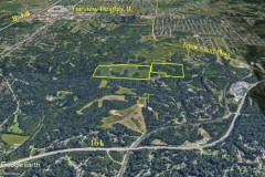 (268a) 80 Acres Farm Ground with Wooded Mix in St. Clair Co, IL