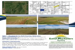 160 +/- Acres Sub-Irrigated Meadow with Live Water