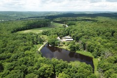 446 acre Farmstead with 300 Fenced acres and Several Ponds in Endicott NY 217 Southerland Road