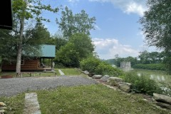 House with Cabins on 38 acres on the Genesee River in Caneadea NY 8243 East River Road